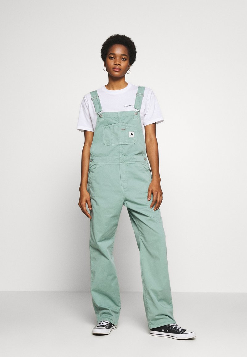 Carhartt WIP - STRAIGHT ACADIA - Tuinbroek - mint