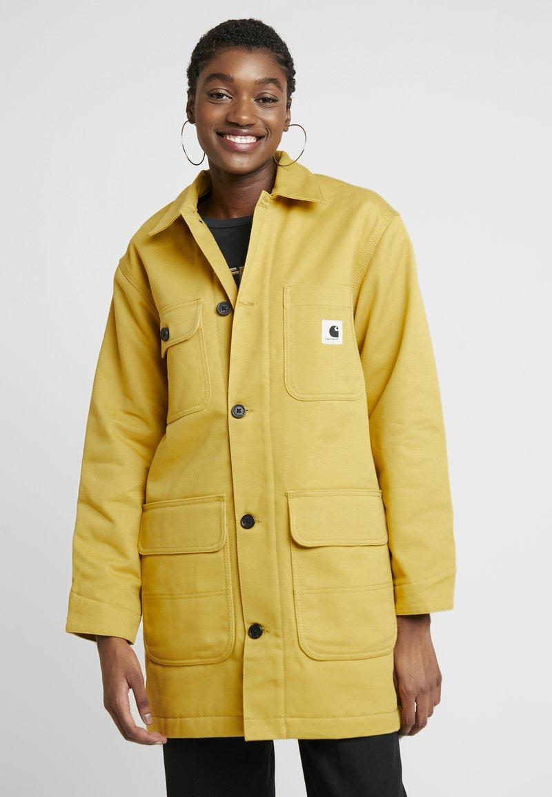 Carhartt WIP - GREAT MENSON COAT - Mantel - dark yellow