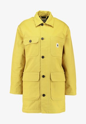GREAT MENSON COAT - Mantel - dark yellow
