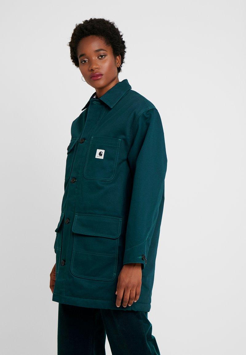 Carhartt WIP - GREAT MENSON COAT - Classic coat - duck blue
