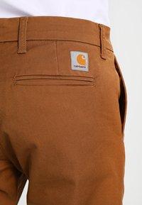 Carhartt WIP - SID LAMAR - Chinosy - hamilton brown rinsed - 4
