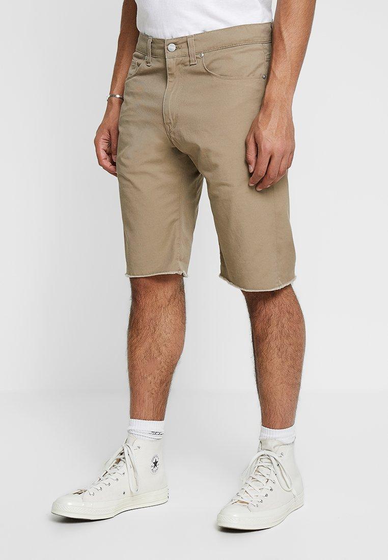 Carhartt WIP - SWELL WICHITA - Shorts - leather rinsed