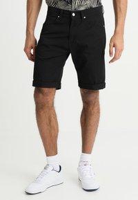 Carhartt WIP - SWELL WICHITA - Shorts - black rinsed - 0