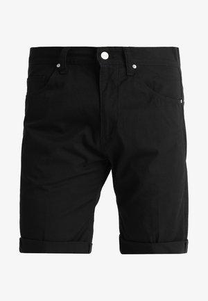 SWELL WICHITA - Shorts - black rinsed