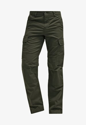 REGULAR COLUMBIA - Pantalon cargo - cypress rinsed