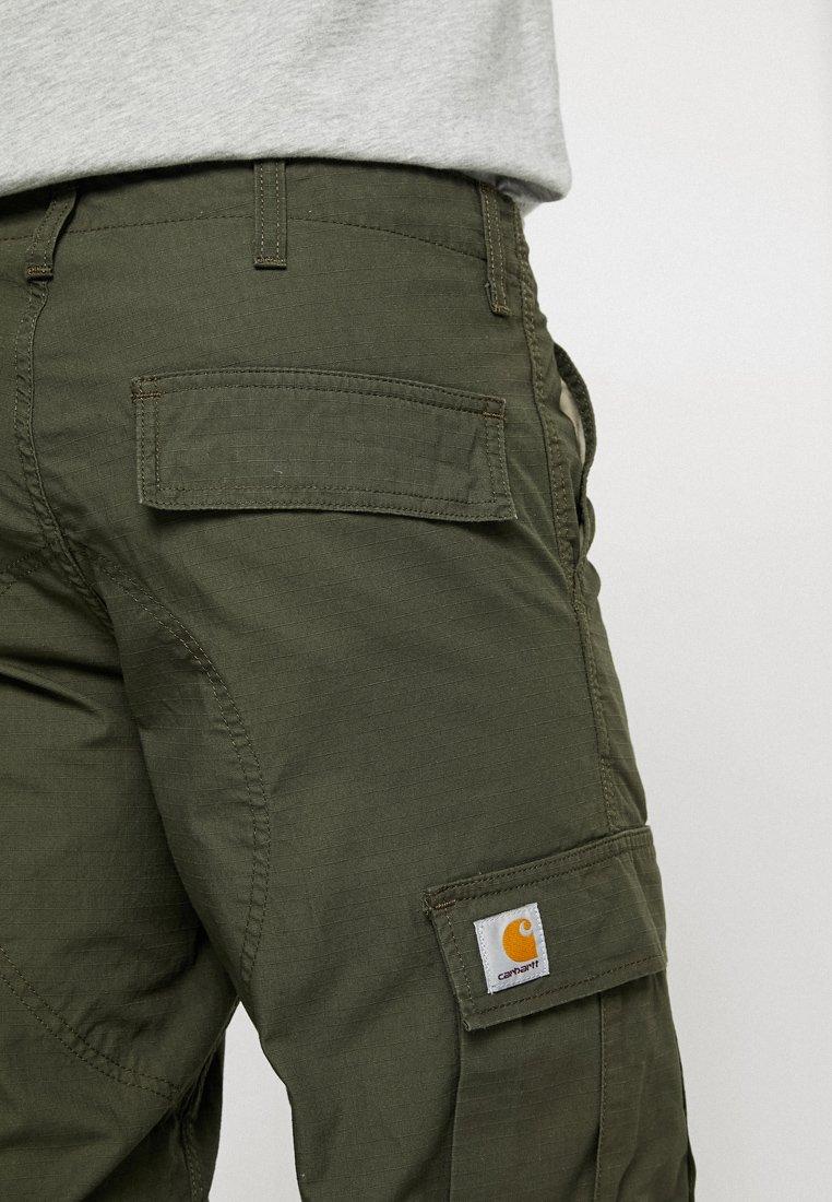 Carhartt Wip Regular Columbia - Cargo Trousers Cypress Rinsed