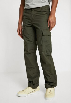 REGULAR COLUMBIA - Cargo trousers - cypress rinsed