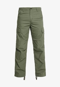 Carhartt WIP - REGULAR COLUMBIA - Cargo trousers - dollar green rinsed - 4