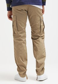 Carhartt WIP - REGULAR COLUMBIA - Cargo trousers - leather rinsed - 2