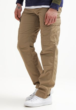 REGULAR COLUMBIA - Cargo trousers - leather rinsed