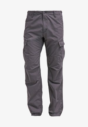 AVIATION PANT COLUMBIA - Cargo trousers - blacksmith rinsed