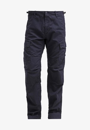 AVIATION PANT COLUMBIA - Cargobukse - dark navy rinsed
