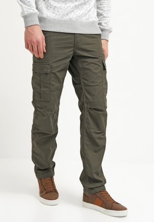 AVIATION PANT COLUMBIA - Bojówki - cypress rinsed