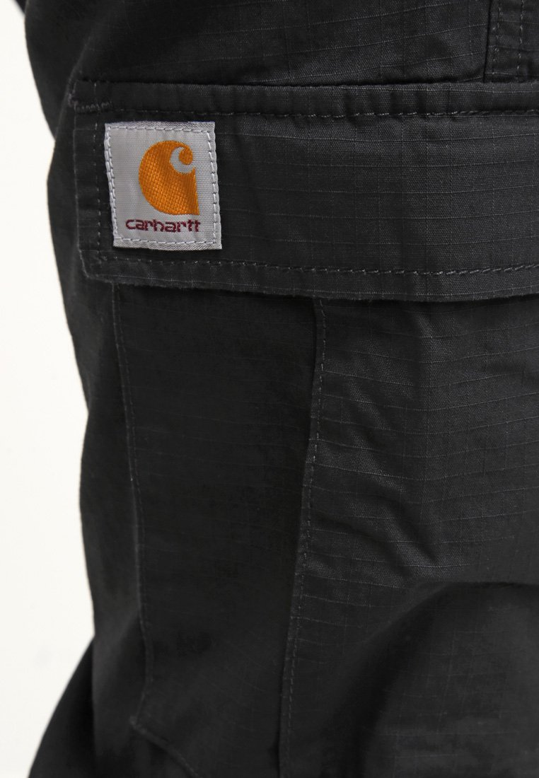 Carhartt WIP AVIATION PANT COLUMBIA - Bojówki - black rinsed