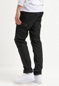 Carhartt WIP - AVIATION PANT COLUMBIA - Pantaloni cargo - black rinsed - 2