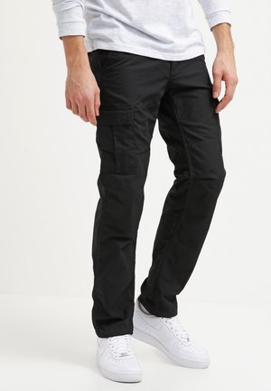 AVIATION PANT COLUMBIA - Pantalones cargo - black rinsed