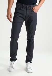 Carhartt WIP - VICIOUS PANT LAMAR - Pantalon classique - blacksmith rinsed - 0