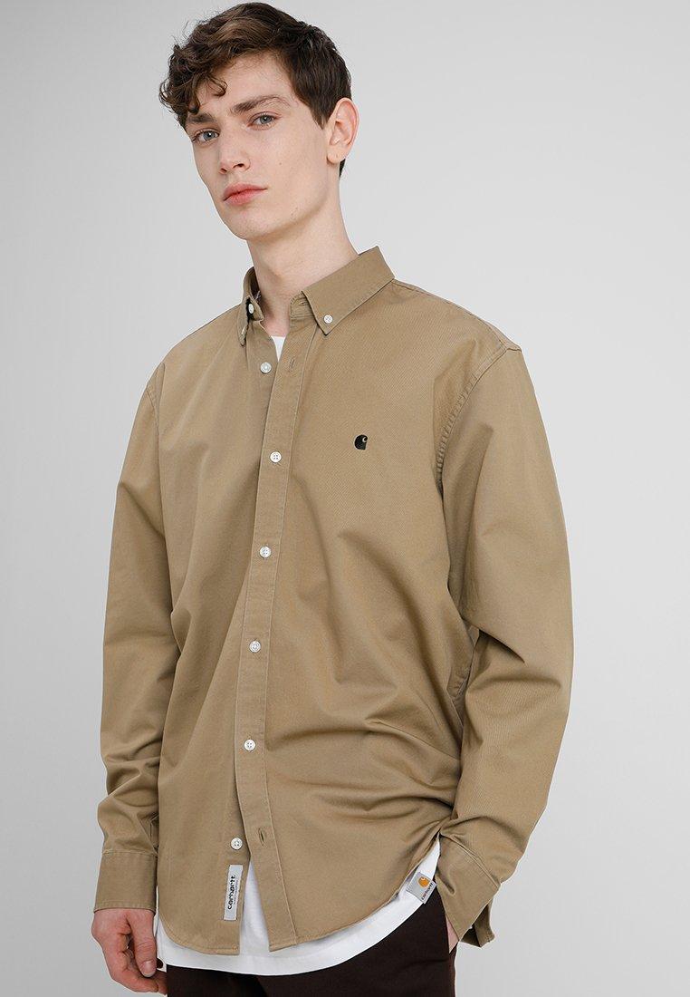 Carhartt WIP - MADISON - Skjorte - leather/black