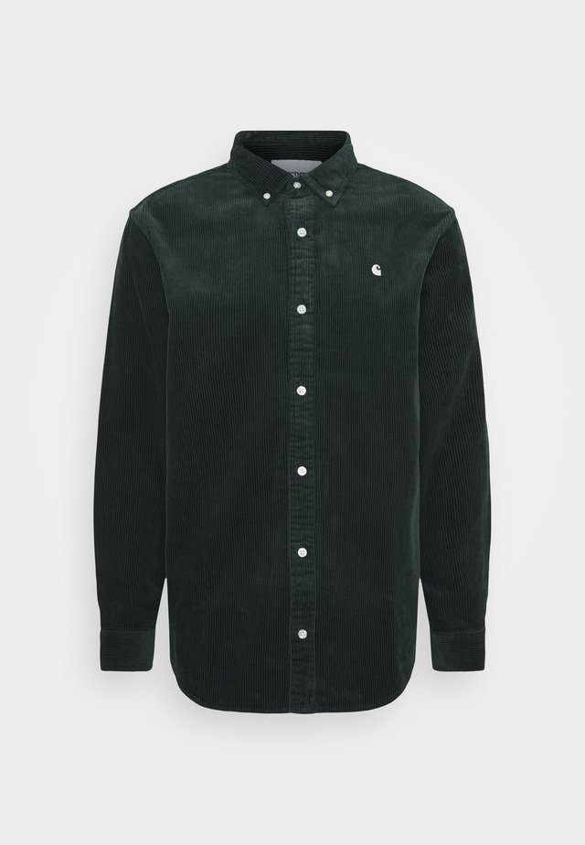 MADISON  - Shirt - dark teal / wax