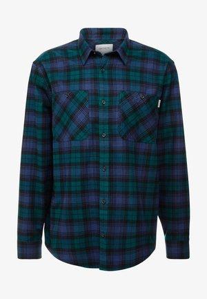 PELKEY - Camisa - dark fir/blue
