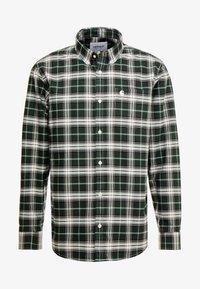 Carhartt WIP - LINVILLE - Koszula - chrome green/wax - 4