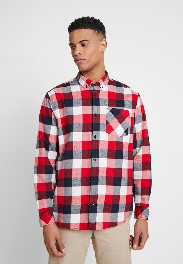 KEAGAN  - Skjorte - check / etna red