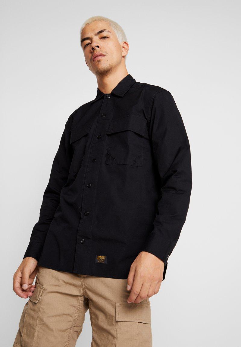 Carhartt WIP - LAXFORD SHIRT - Camisa - black rinsed