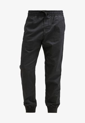 MADISON JOGGER TRABUCO - Stoffhose - black rinsed