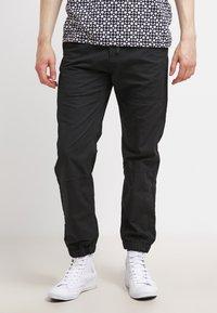 Carhartt WIP - MARSHALL COLUMBIA - Pantalon classique - black rinsed - 0