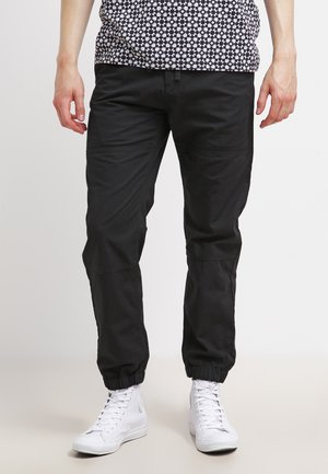 MARSHALL COLUMBIA - Trousers - black rinsed