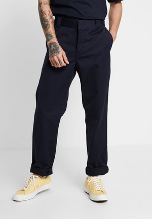 MASTER DENISON - Chino - dark navy rinsed