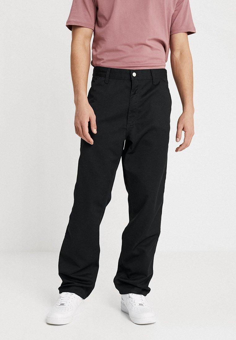 Carhartt WIP - SIMPLE DENISON - Pantalon classique - black