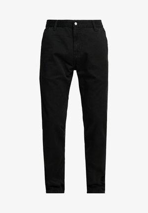 RUCK SINGLE KNEE PANT MILLINGTON - Kalhoty - black stone washed