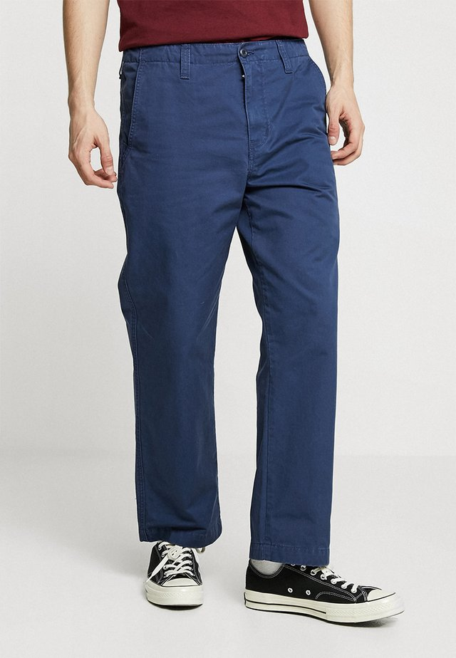 DALLAS PANT - Broek - blue stone washed