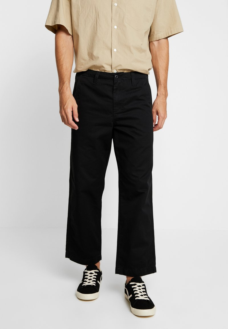 Carhartt WIP - DALLAS PANT - Trousers - black stone washed