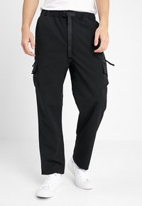 Carhartt WIP - ELMWOOD PANT MECHANICAL STRETCH - Reisitaskuhousut - black - 0