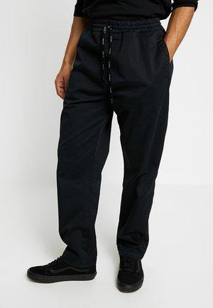 LAWTON PANT VESTAL - Kalhoty - black