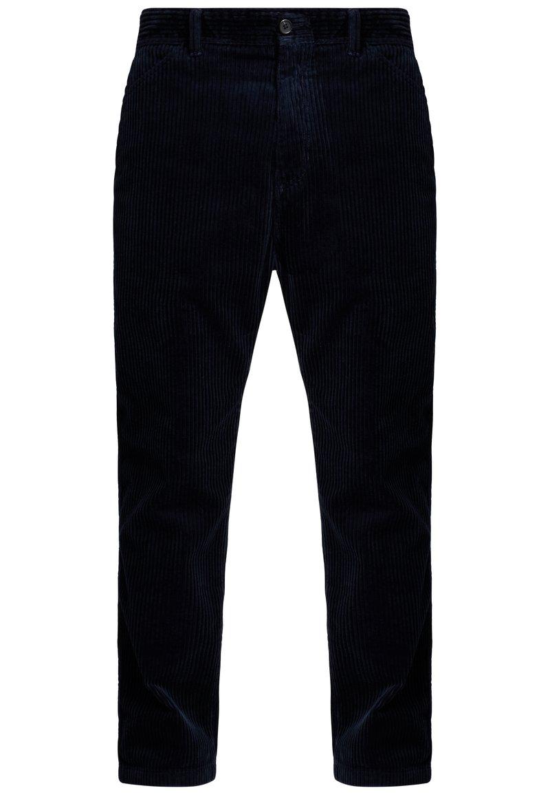 Carhartt WIP - MENSON PANT - Kalhoty - dark navy rinsed