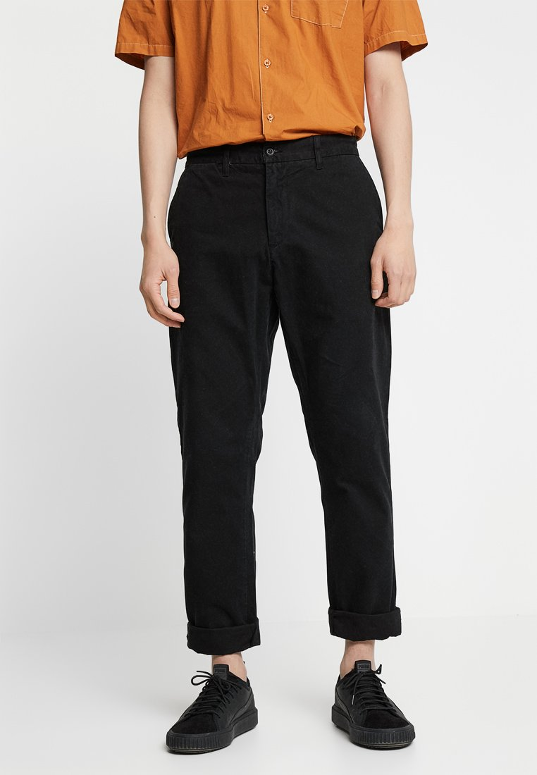 Carhartt WIP - JOHNSON PANT KINGSVILLE - Trousers - black