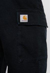 Carhartt WIP - KEYTON PANT - Cargobyxor - black aged - 4