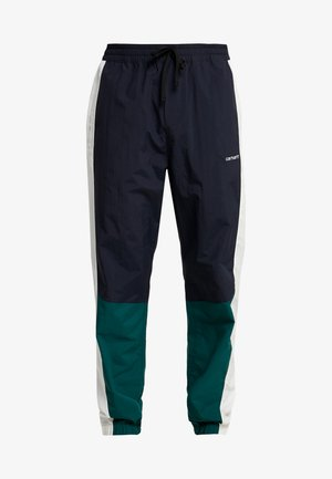 BARNES PANT - Pantalon de survêtement - dark navy / dark fir