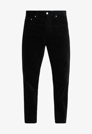 NEWEL PANT - Kalhoty - black rinsed