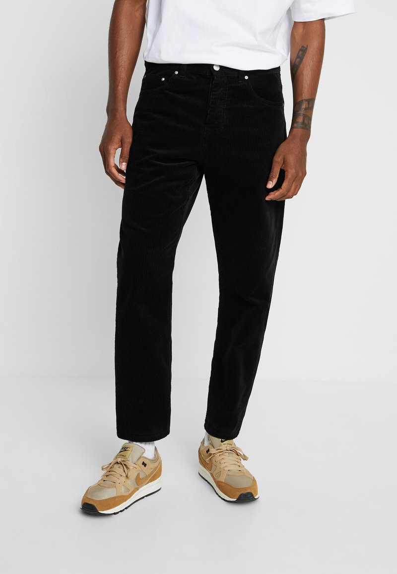 Carhartt WIP - NEWEL PANT - Bukse - black rinsed