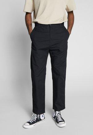 MEMPHIS PANT MOSQUERO - Chino kalhoty - black