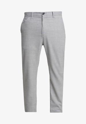 MENSON PANT MONTEBELLO - Spodnie materiałowe - lewis/black rigid
