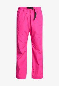 Carhartt WIP - CLOVER PANT LANE - Tygbyxor - ruby pink rinsed - 4