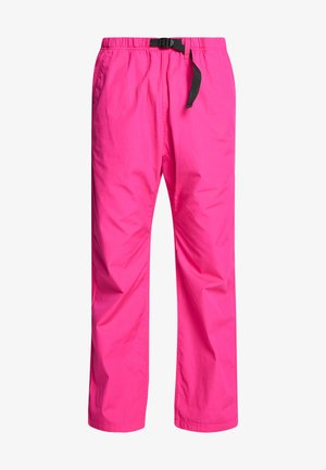 CLOVER PANT LANE - Tygbyxor - ruby pink rinsed