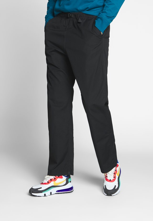 CLOVER PANT LANE - Kalhoty - black rinsed