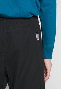 Carhartt WIP - CLOVER PANT LANE - Pantalon classique - black rinsed - 3