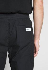 Carhartt WIP - COLTER PANT - Kangashousut - black/white - 3